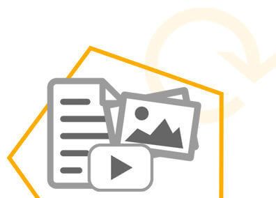 Web content: contenuti multimediali e testuali