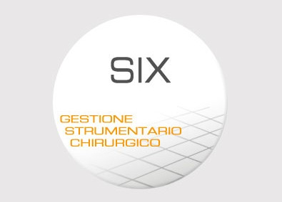 SIX – Gestione centrali di sterilizzazione degli strumenti chirurgici